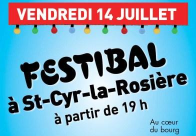FestiBal à Saint-Cyr le 14 juillet