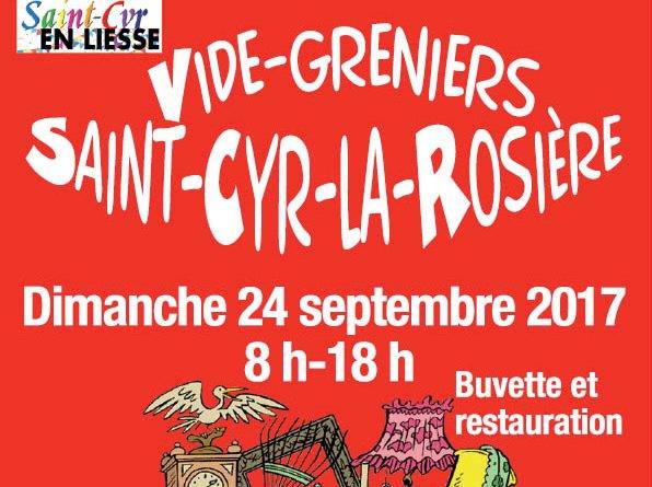 vide-greniers St Cyr le 24 sept