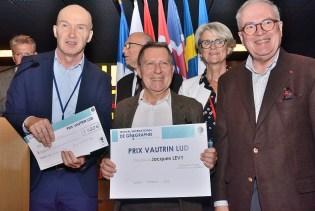 Le géographe Jacques Lévy, lauréat du prix Vautrin-Lud 2018, samedi en fin de matinée.