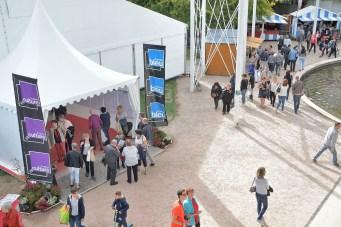 De nombreux festivaliers se sont déplacés tout au long des 3 jours du festival, notamment samedi après-midi.