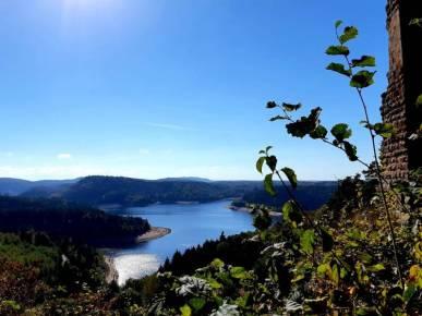vue vallée des lacs