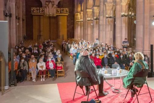 Le grand entretien à la cathédrale avec Catherine Dolto, présidente du Salon du Livre 2021