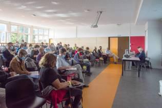 Conférence à l'amphithéâtre du lycée Jules-Ferry