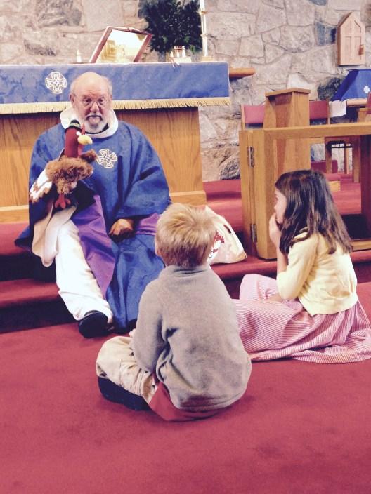 St.Edward's Thanksgiving childrens sermon
