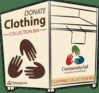 Community Aid bin logo