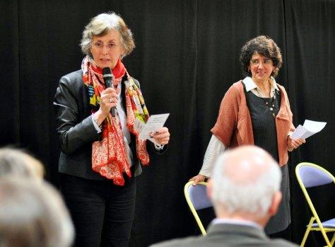 Isabelle Piot et Monique Cosson