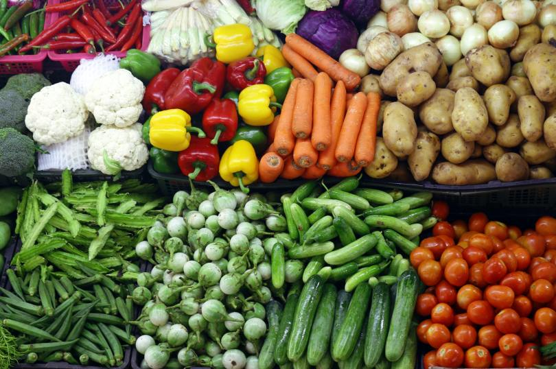 Various Organic Vegetables