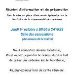 thumbnail of affiche réunion de préparation 1er octobre cayres (1)