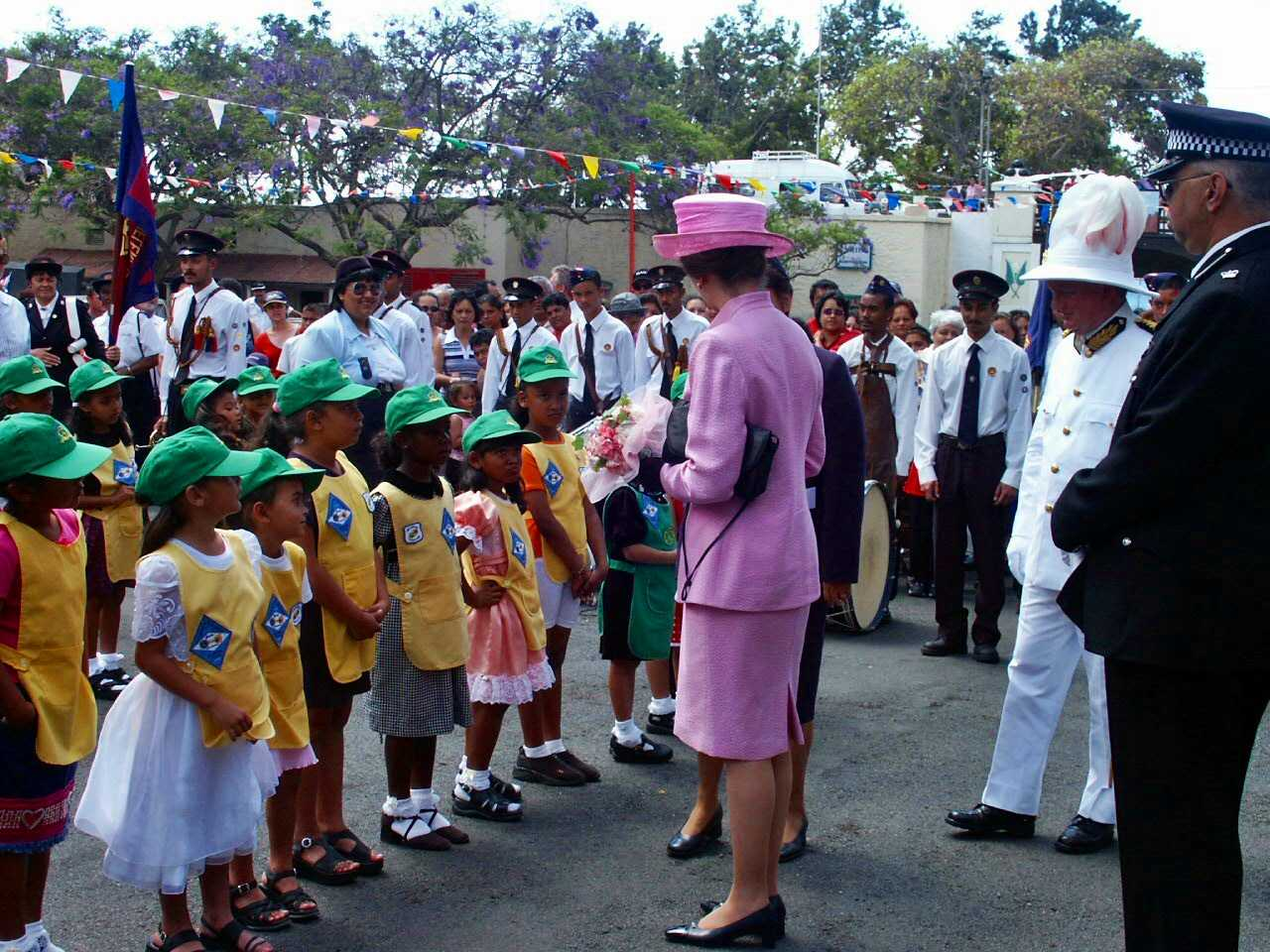 2002: Anne, The Princess Royal Saint Helena Island Info