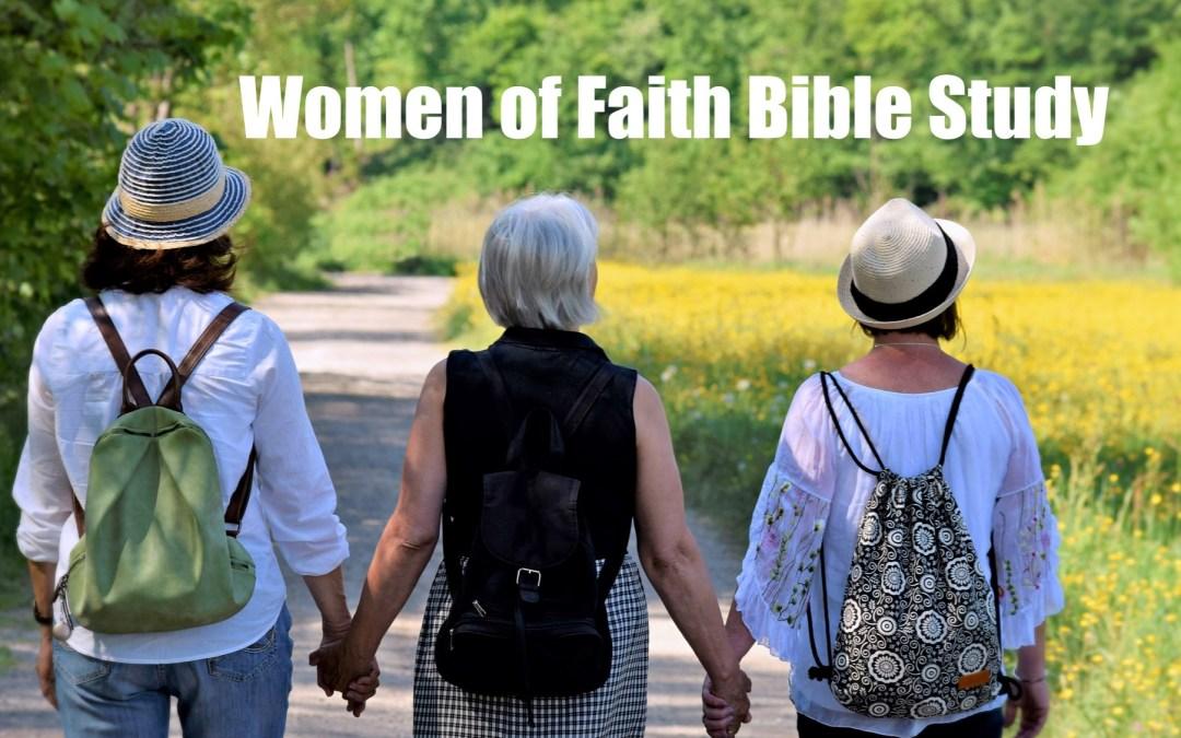 Women's Bible Study – No Meeting May 8th – Resuming May 15th