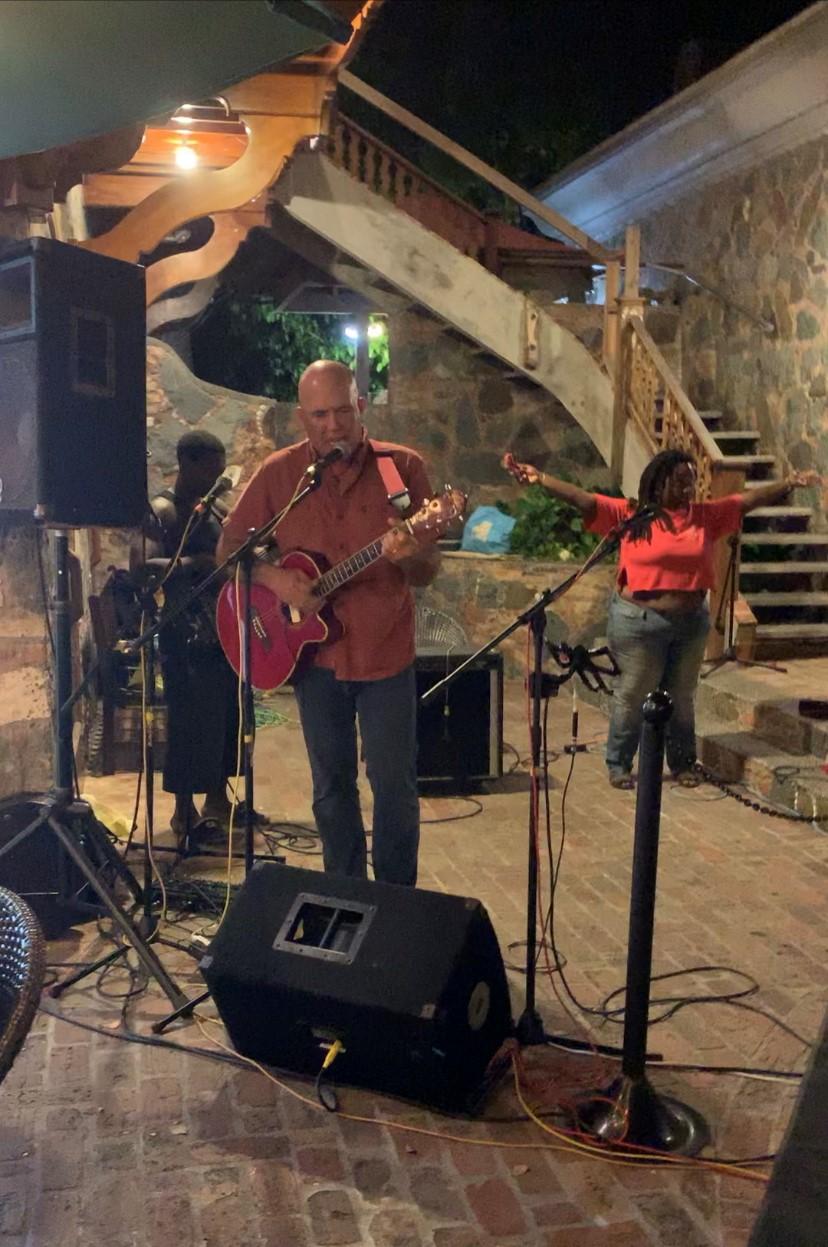 Roger Colvin and Ingrid -- Saint John Boat Charters Live Music