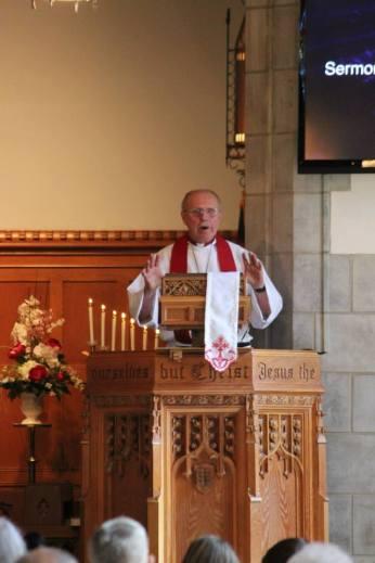 Pastor Dehnke Guest Preacher