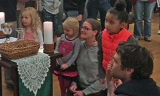 sje harperdandridge elena lauren giannni forrest children's liturgy 17jul2016 jan adams phot