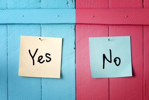 Yes-No-Reflex