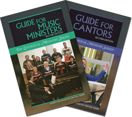 Cover of LTP's Guides for Music Ministers and for Cantors