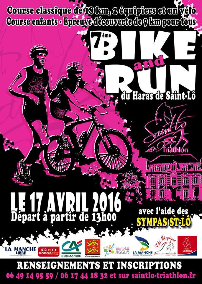 Bike and Run, inscriptions c'est parti
