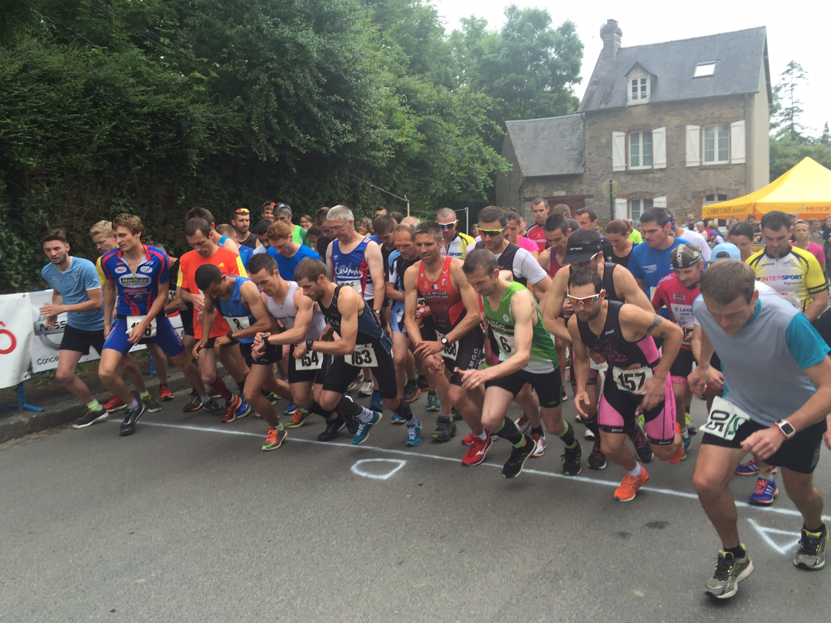 26 eme duathlon de Saint Pierre de Semilly