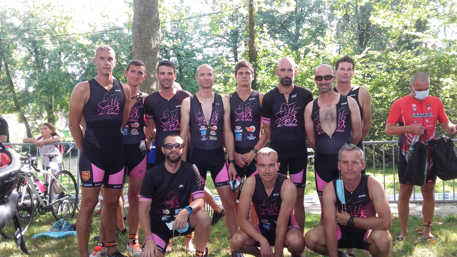 Triathlon de Caen par équipe