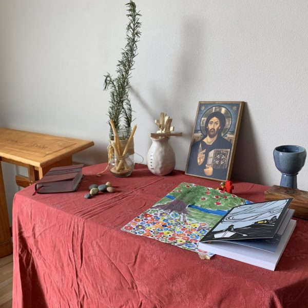 The Moody Family Home Altar