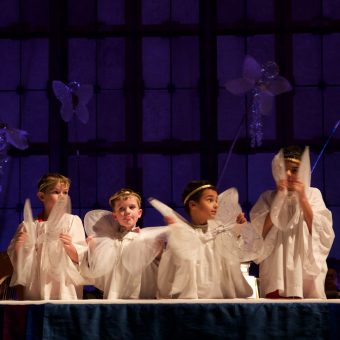 Nativity Pageant Reprise in Pandemic, hosted by Dean Thomason