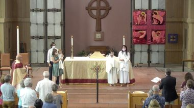 The Holy Eucharist with Baptisms on The Feast of the Transfiguration, August 8, 2021