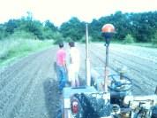Plantation de pdt avec J & H