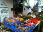 Échalotes, betteraves, radis, tomates...