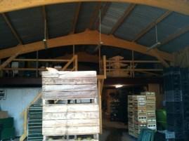 Cellier, zone de stockage