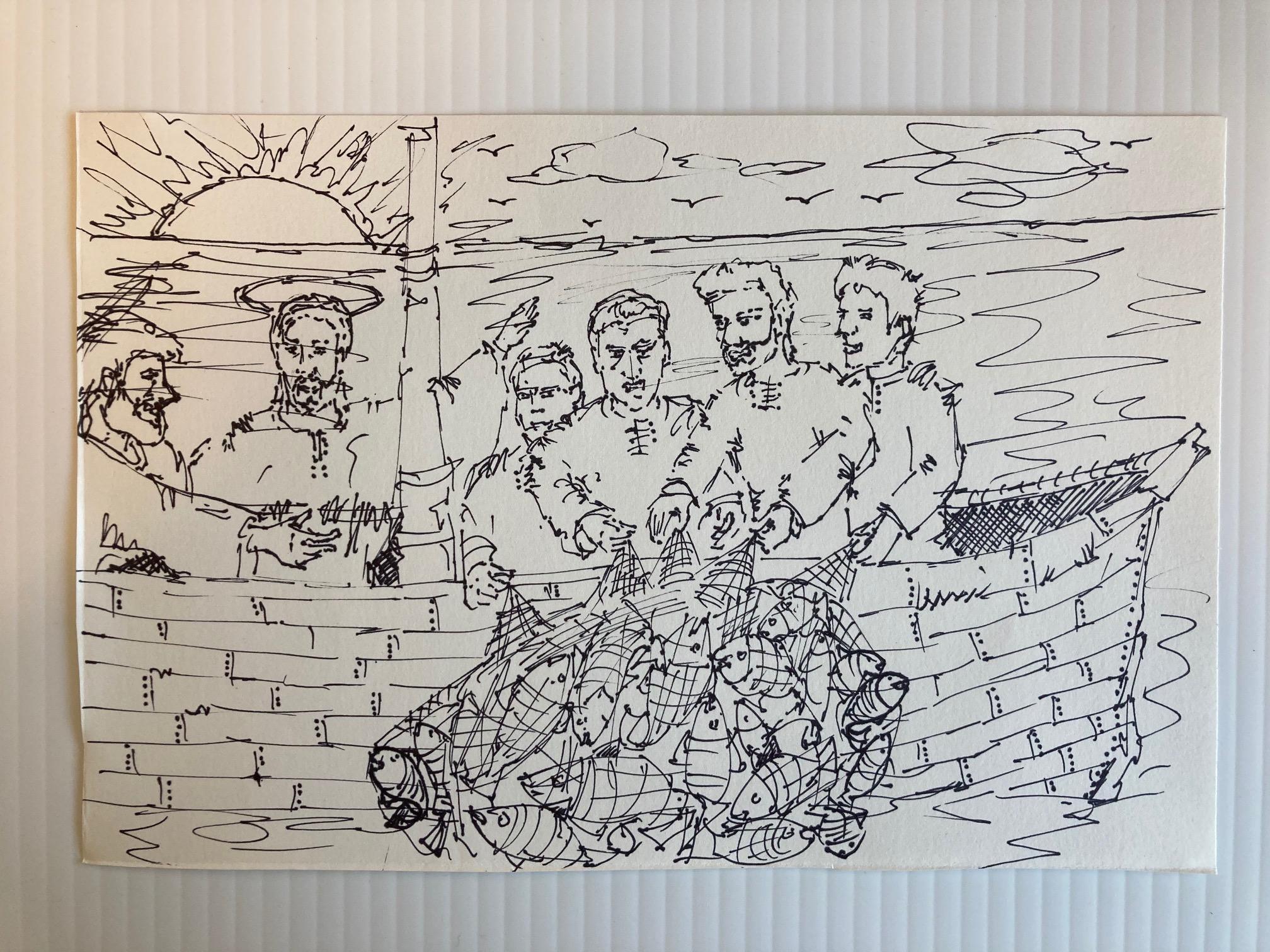 Surprise Sketches teach Art, Religion, Gratitude