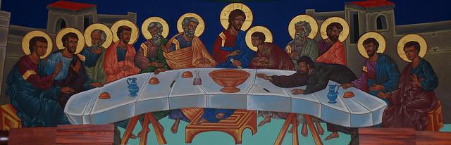 The Last Supper-Icon