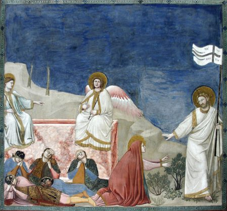 Marie-Madeleine et le Christ ressuscité – Giotto (1267-1337)