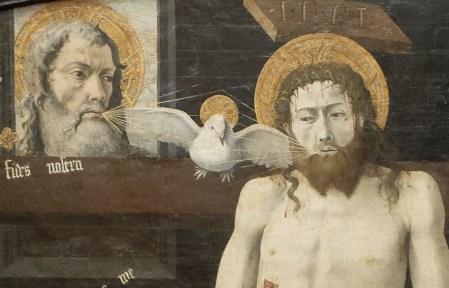 Anonyme, Retable de Boulbon, détail, 15e s., musée du Louvre