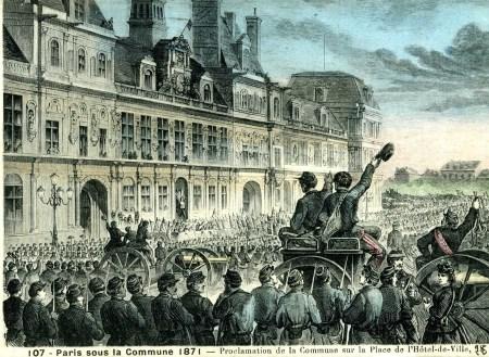 La Commune de Paris-carte postale