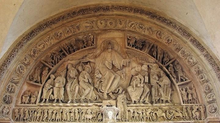 1200 Vézelay_Narthex_Tympan_central