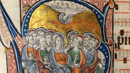 La-Pentecôte-Enluminure-dun-missel-anglais-ca.-1310-1320-1