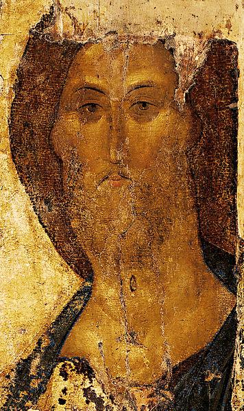 Andreï Roublev, Le Christ sauveur du monde, 1410, Moscou