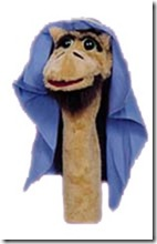 Clyde the Puppet Camel