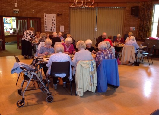 Coffee Morning Lunch (July 2012)