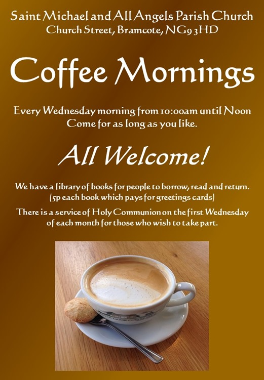 Coffee Morning Flyer (2018)