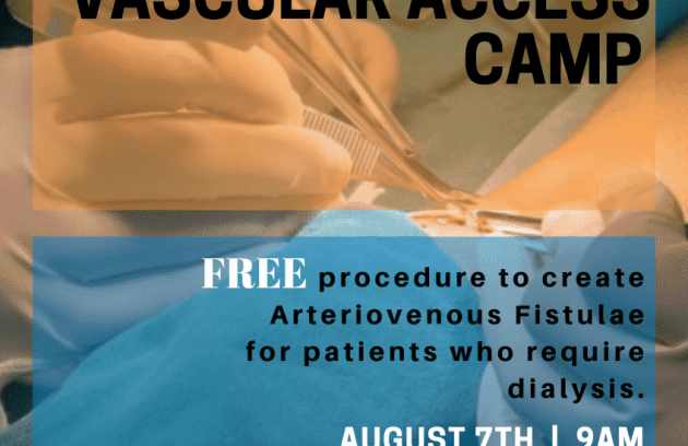 St. Nicholas Hospital Free-VASCULAR-ACCESS-in-St-Nicholas-Hospital- Vascular Access Camp:  St. Nicholas Hospital to Provide Free Procedure for Patients