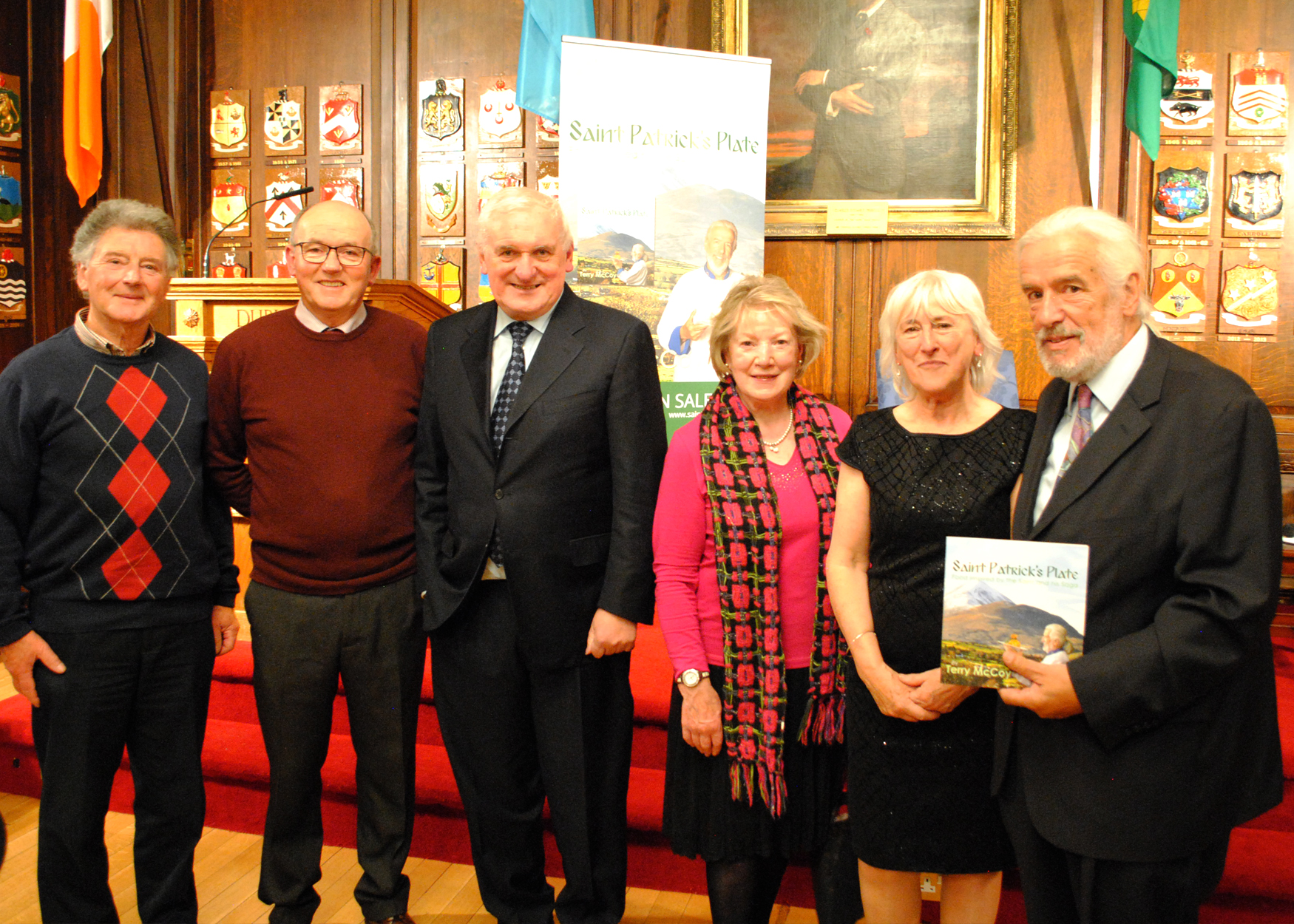 Saint Patrick's Plate - Book Launch - The Mansion House