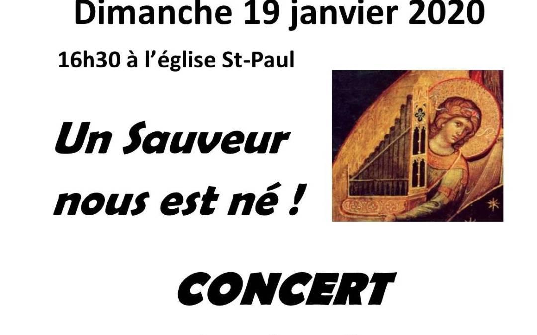 Concert des organistes