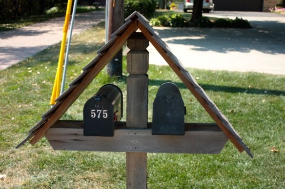 McKnight Road mailboxes.