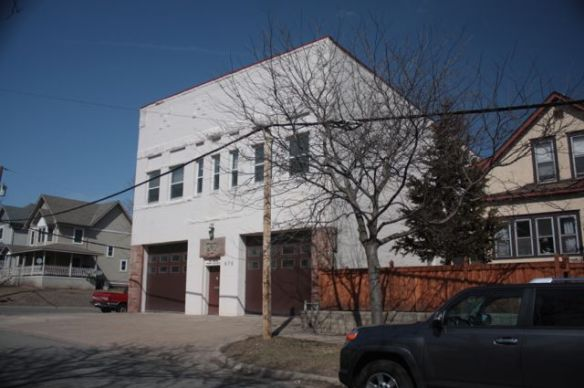 Now a Fire Department maintenance shop, the building opened in 1890 as Fire Station 11 for horse-drawn fire equipment.