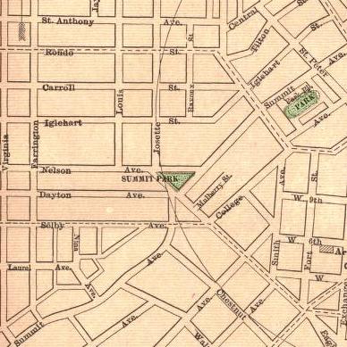 Rand McNally map from 1895