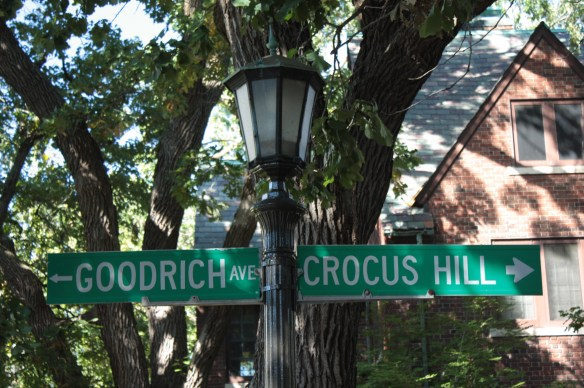 Yes, Crocus Hill is also a street name.