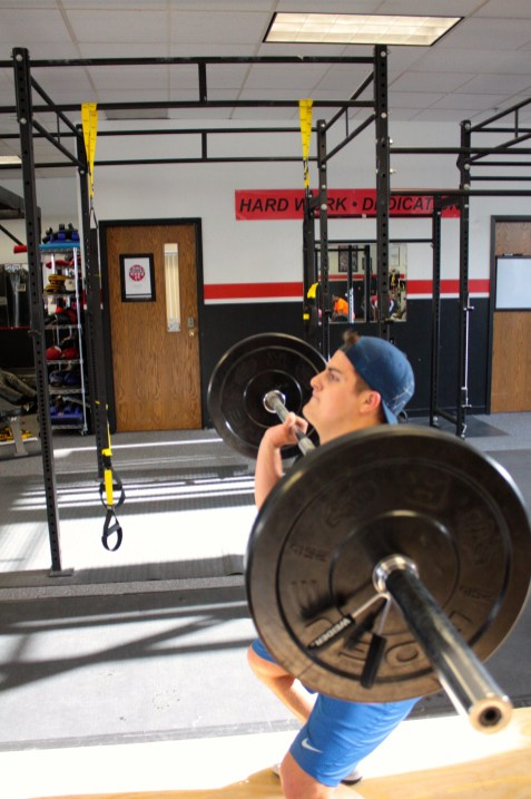 Ready to lift.