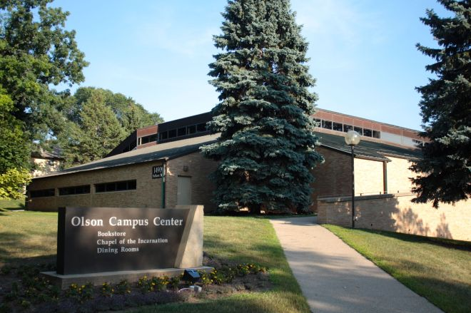 Olson Center at 1490 Fulham Street is the heart of the Luther Campus.