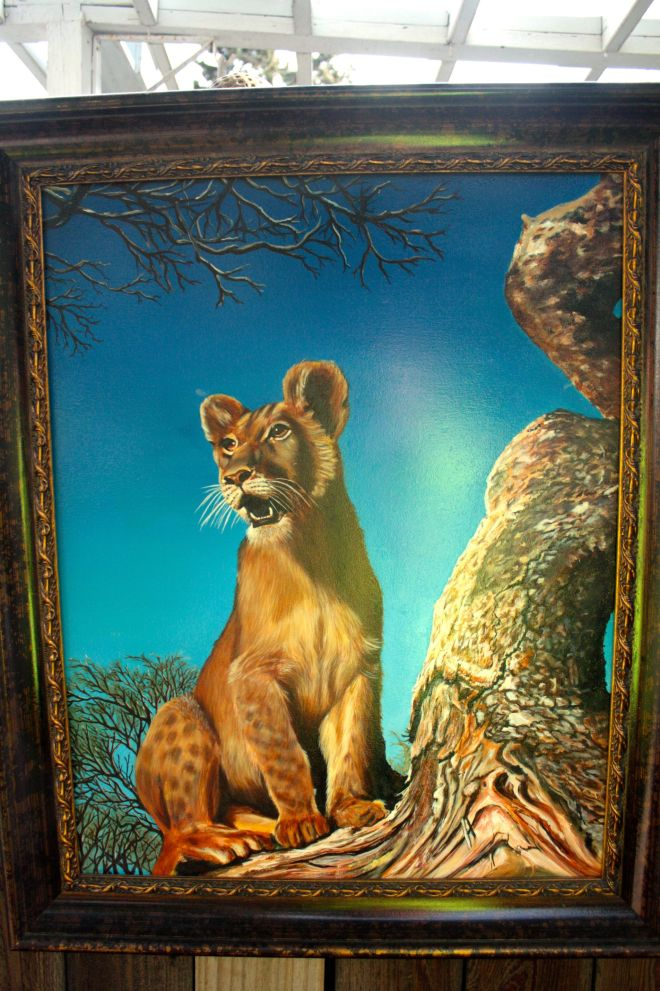 lion painting 1