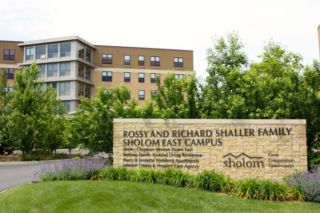 The Sholom East Campus on Kay Avenue provides short-term rehabilitation to long-term care and specialized end-of-life care.(2)